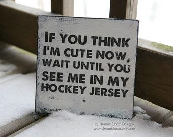 Hockey Signs, Hockey Wall Decor, Baby Boy Hockey Decor, Baby Boy Gifts, Hockey Baby Shower, Sports Decor, Kids Room Themes, Sports Decor