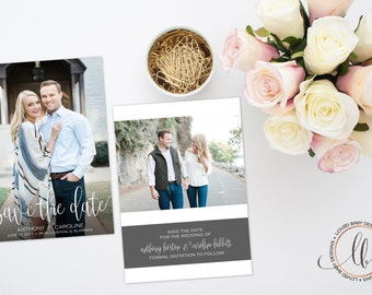 Save the Date - Printable Save the Date - Wedding Announcement - Save the Date with Picture - Printable