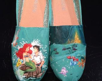 Little Mermaid Inspired TOMS