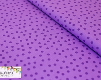 Lavender Remix Tone on Tone Dots From Robert Kaufman's Remix Collection by Ann Kelle.