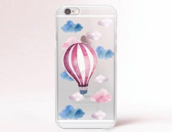 iPhone SE case Clear Transparent iPhone 6 case Clear iPhone 7 plus case iPhone 6s plus case iPhone 8 Case Samsung Galaxy 8 Plus Case Baloon