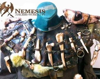 Collars of bones (orc, gobelin, skaven, barbarian)