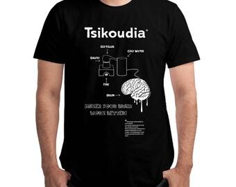 Tsikoudia T-shirt, Unisex