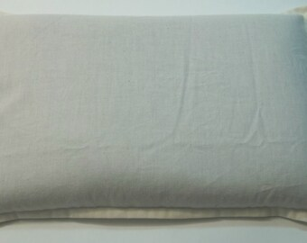 Snuggly Aromatherapy Hot Cold Organic Flax Seed filled pillow