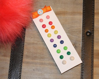 Hypoallergenic Candy Button Post Earrings