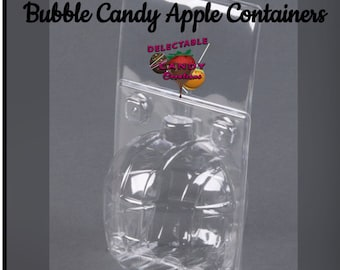 Bubble Candy Apple Containers-Candy Apple Bubble Container-Bubble Containers-Apple Containers-Candy Apples