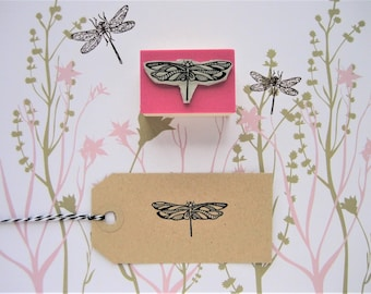 DRAGONFLY stamp. Dragonfly Rubber Stamp. Insect stamp. Wedding invitation. Engagement Stamp. Wedding Stamp. Mother's Day Gift. Wedding Gift