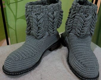 Women's Knitted Boots