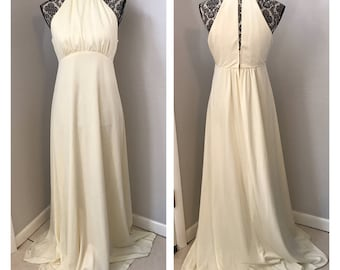 Vintage 70s Wedding Dress | Vintage Wedding Dress