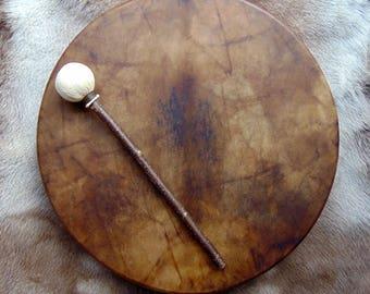 18 inch sewn skin drums