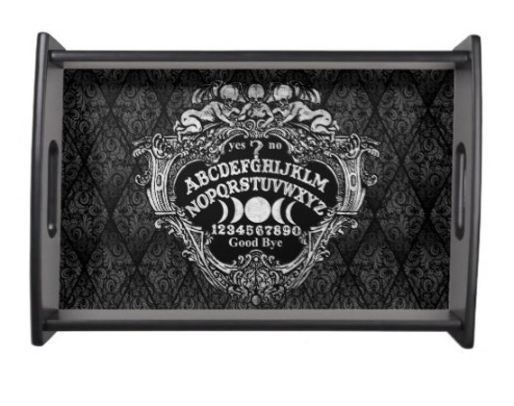 Ouija Board with Cherubs Serving tray