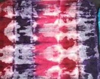 Dozen Tie Dyed Cloth Wipes