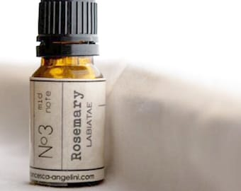 No.3 Rosemary - 100% PURE ESSENTIAL OIL - certified organic - therapeutic practitioner grade
