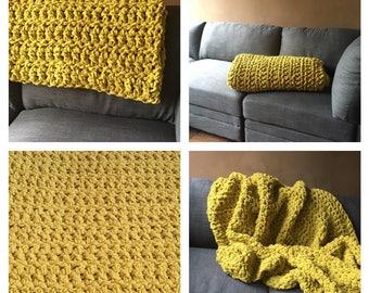 Large Crochet Blanket