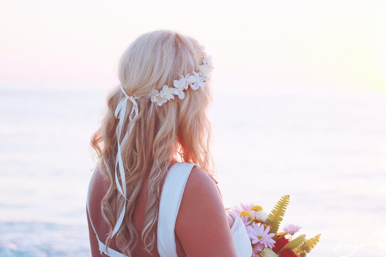 cherry blossom flower crown bridal headpiece wedding headband
