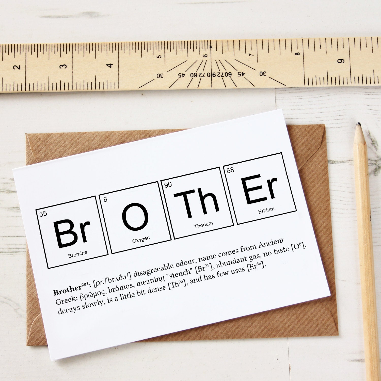 Funny brother elements cards funny sibling joke greeting zoom buycottarizona