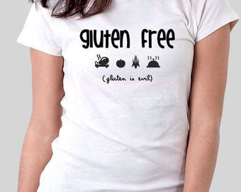 Gluten free,gluten free tshirt,no gluten tshirt,gift for her,gift for him,gift for mom,vegan,mom gift,celiac shirt,gift for celiac