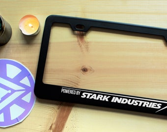 Stark Industries Inspired License Plate Frame