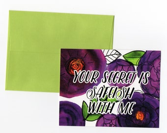 The Mindy Project // Your Secret is Safeish With Me // Floral