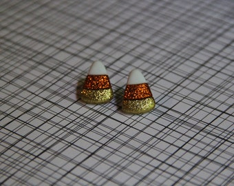 Fall Candy Corn Post Earrings!!