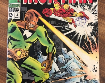 Iron Man Vintage Comic