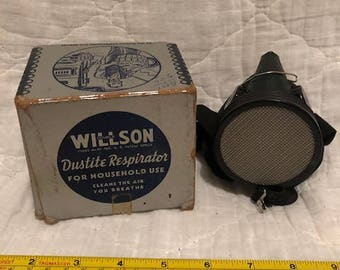 Antique Willson Dustite No 2 Respirator