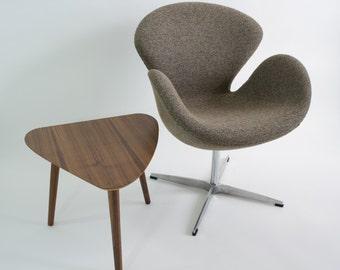 Mid-Century Modern Amoeba Side Table - Walnut