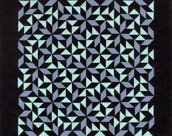 Scatter (Lilac Mint) Tile Print