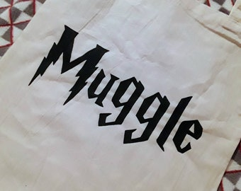 Harry Potter Themed Tote Bag
