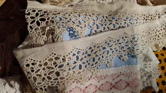 Victorian Guipure Lace White French Cotton Lace Sewing Project Bridal #sophieladydeparis