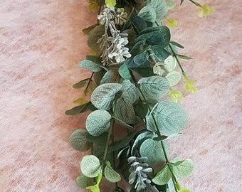 Artificial Eucalyptus garland-Foliage garland-Wedding foliage -Decoration