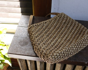 Vintage Straw Weave Purse Bag