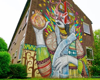 Graffiti Photography, Street Art, Urban Art, Photo, Wall Art, Fine Art Print, Picture, Canvas, Home Decor