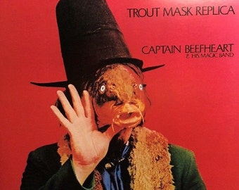 "Captain Beefheart & His Magic Band ""Trout Mask Replica"" Very Rare Vintage Double LP Vinyl Record Excellent Condition!"