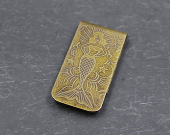 Mermaid Money Clip