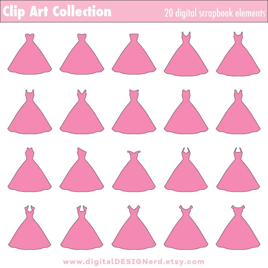 Lujo Boda Vestido Clip De Arte Ideas Ornamento Elaboración ...