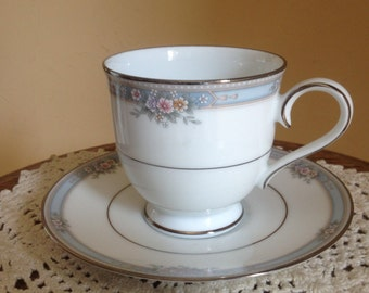 """Vintage """"Ainsworth"""" Noritake  tea cup and saucer- Nice Condition"""