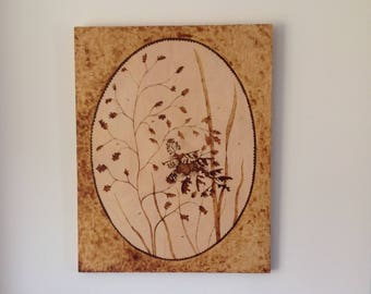 Leafy Sea Dragon. Wood Burning by John Hibbert