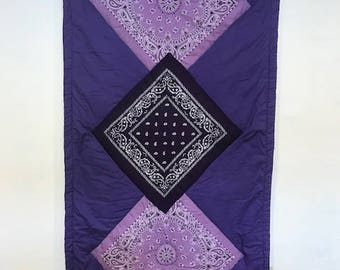 Purple Cuddle Therapy Color Quilt