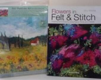 Sunflower -  Felt Kit & Book offer