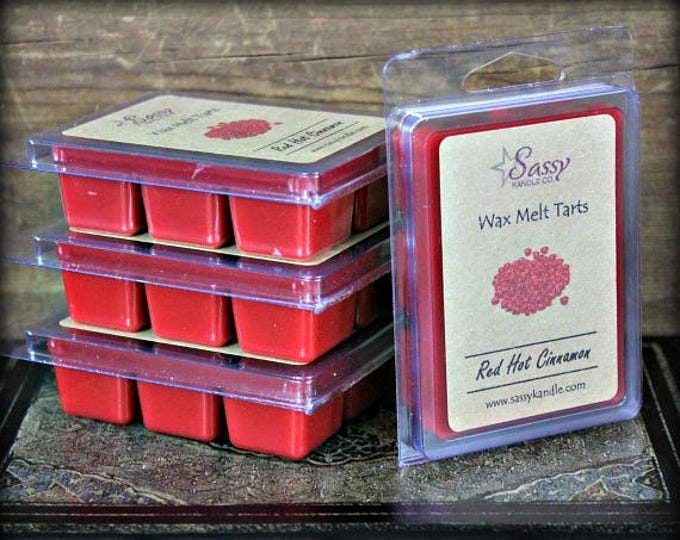 RED HOT CINNAMON | Wax Melt Tart | Sassy Kandle