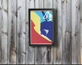 GRENINJA poster - Inspired by Super Smash Bros.