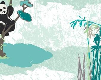 Pandagarden Recess - PANDALICIOUS by Katarina Roccella for Art Gallery Fabrics PND 10130
