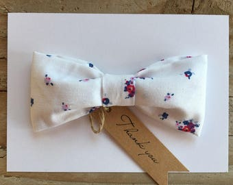 Oversize Floral Bow
