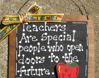 Teacher Gifts 81 Teachers open Doors to the Future Slate