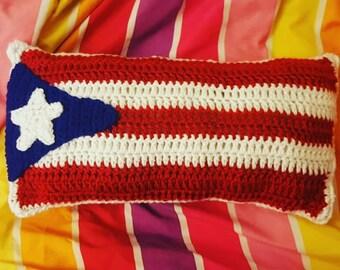 Puerto Rico Flag Pillow