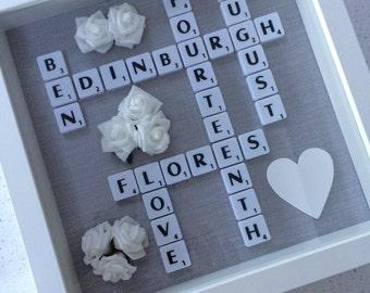 Small Family Scrabble Frames