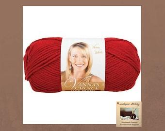 Vanna's Choice Yarn, Lion Brand Vanna's Choice Yarn, Cranberry