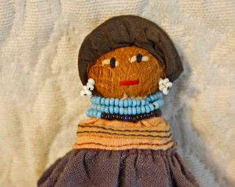 Charming small Vintage (1940'S) Seminole Indian Doll