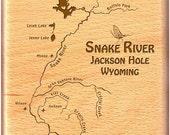 Fly Box - SNAKE RIVER MAP...
